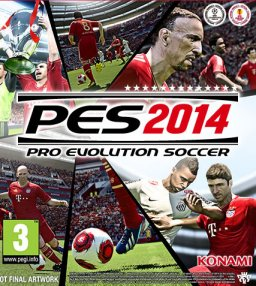 Pro Evolution Soccer 2014 PES 14 krabice