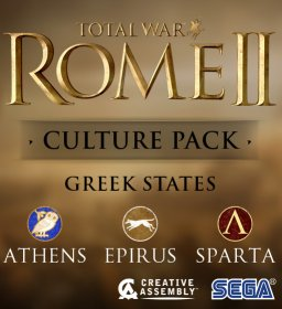 Total War ROME II Greek States Culture Pack krabice