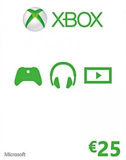 Xbox Live 25 EUR