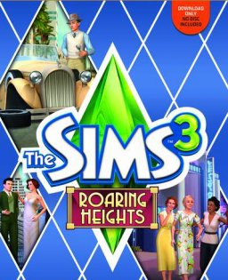 The Sims 3 Roaring Heights krabice