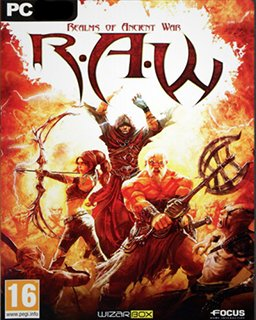 R.A.W. Realms of Ancient War RAW krabice