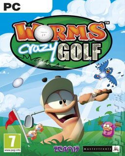 Worms Crazy Golf krabice