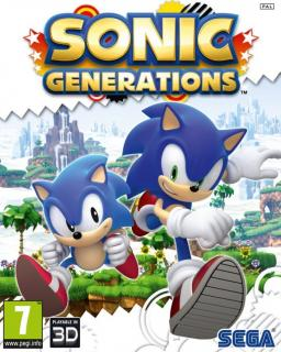 Sonic Generations krabice