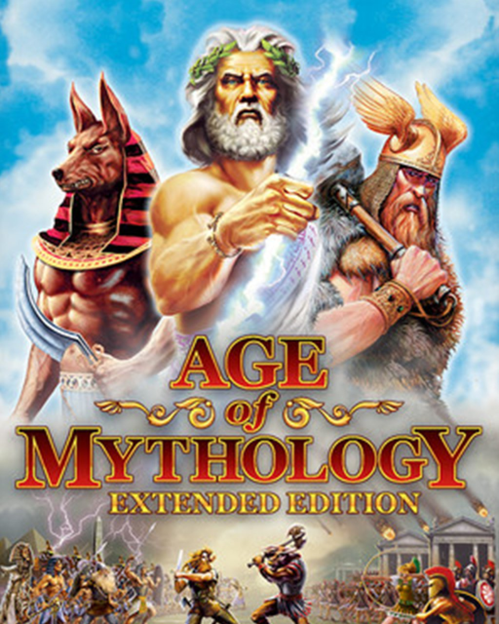 Age of Mythology Extended Edition krabice