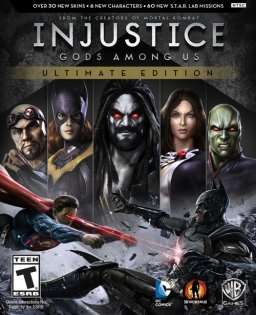 Injustice Gods Among Us Ultimate Edition krabice