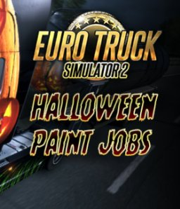 Euro Truck Simulátor 2 - Halloween Paint Jobs Pack