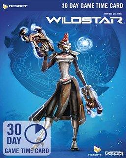 Wildstar EU 30 Dní předplacená karta krabice