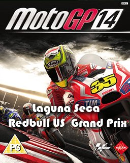 Moto GP 14 Laguna Seca Red Bull US Grand Prix krabice