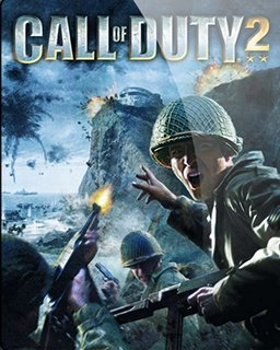 Call of Duty 2 krabice