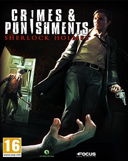 Sherlock Holmes Crimes and Punishments krabice