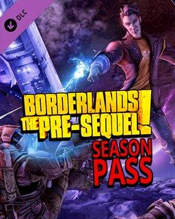 Borderlands The Pre-Sequel Season Pass krabice