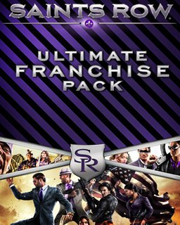 Saints Row Ultimate Franchise Pack krabice