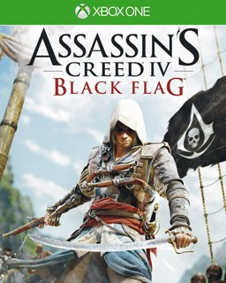 Assassins Creed 4 Black Flag Xbox One krabice