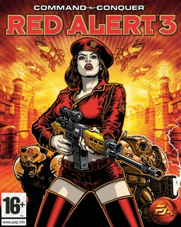 Command and Conquer Red Alert 3 krabice