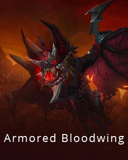 World of Warcraft Armored Bloodwing