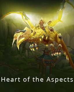 World of Warcraft Heart of the Aspects krabice
