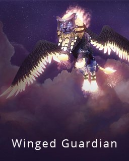 World of Warcraft Winged Guardian krabice