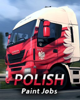 Euro Truck Simulátor 2 - Polish Paint Jobs Pack