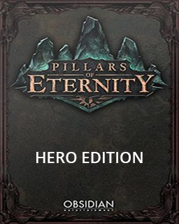 Pillars of Eternity Hero Edition krabice