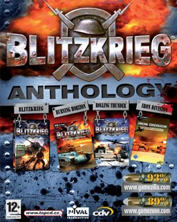Blitzkrieg Anthology krabice