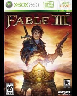 Fable III Xbox 360 krabice