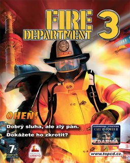 Fire Department 3 krabice