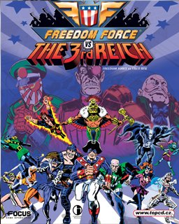 Freedom Force vs. the Third Reich krabice
