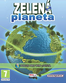 Zelená planeta Projekt Země krabice