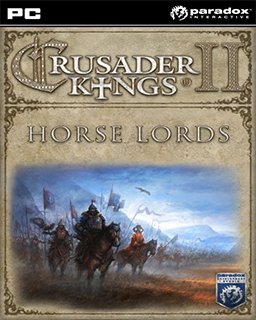 Crusader Kings II Horse Lords krabice