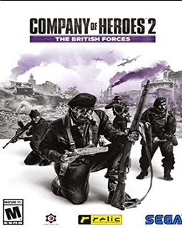 Company of Heroes 2 The British Forces krabice