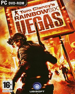 Tom Clancys Rainbow Six Vegas krabice