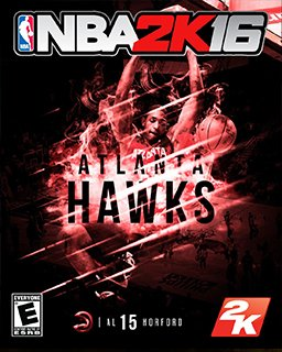 NBA 2K16 krabice