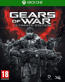 Gears of War Ultimate Edition Xbox One krabice