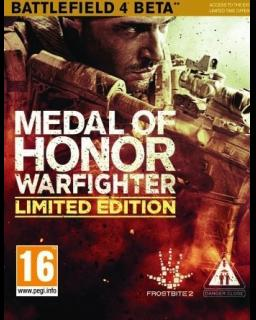 Medal of Honor Warfighter Limited Edition krabice