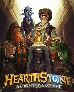 Hearthstone league of Explorers krabice