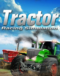 Tractor Racing Simulation krabice