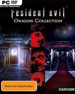 Resident Evil Origins Collection krabice
