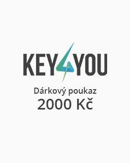 Dárkový poukaz v hodnotě 2000,- CZK krabice