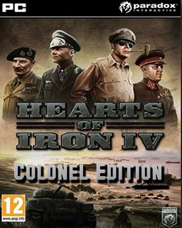 Hearts of Iron IV Colonel Edition krabice