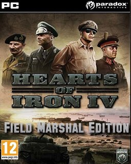 Hearts of Iron IV Field Marshal Edition krabice