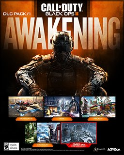 Call of Duty Black Ops III Awakening krabice