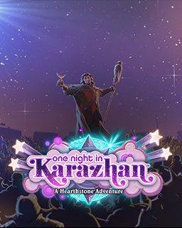 Hearthstone One Night in Karazhan krabice