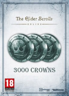 The Elder Scrolls Online: Tamriel Unlimited 3000 Crown Pack