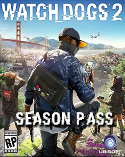 Watch Dogs 2 Season pass krabice