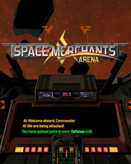 Space Merchants Arena krabice