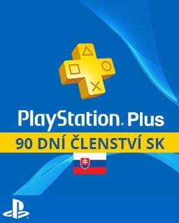 PlayStation Plus 90 dní SK krabice
