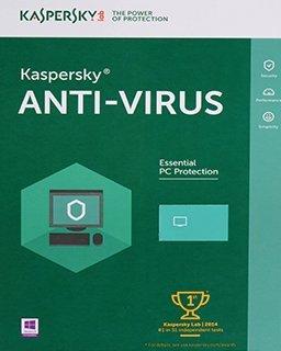 Kaspersky AntiVirus 2017, 3 lic. 1 rok krabice