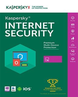 Kaspersky Internet Security 2017, 1 lic. 1 rok krabice