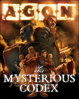 AGON The Mysterious Codex (Trilogy) krabice