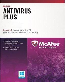 McAfee AntiVirus Plus 1lic. 1 rok